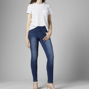 🏆JAG JEANS High Rise Slim Ankle Stretchy Comfy 0